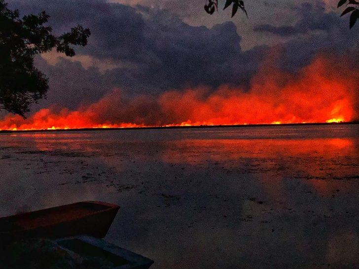 Samsun'da korkutan yangın! Kontrol altına alınamıyor