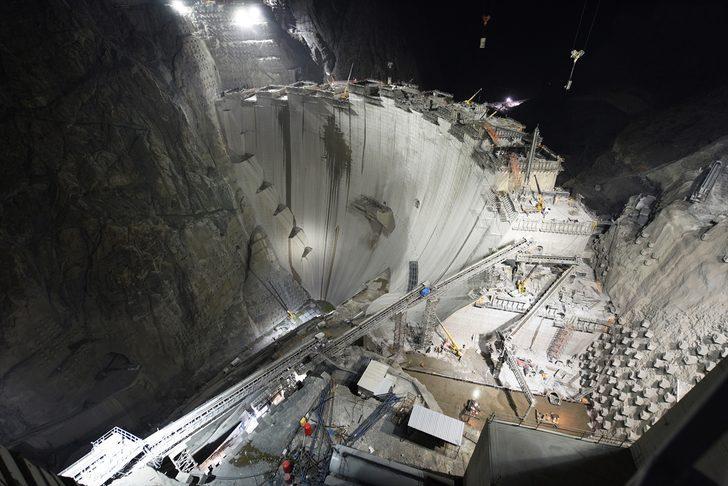 Yusufeli Barajı'nda son 50 metre! Tamamlandığında Türkiye'nin en büyüğü olacak