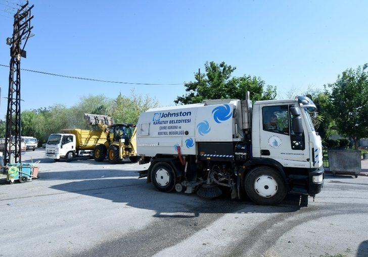 Karatay Belediyesi'nden sanayi sitelerine temizlik seferberliği