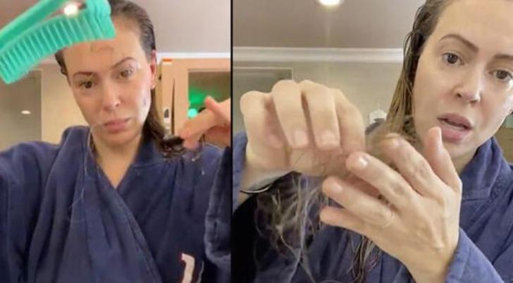 Koronavirüs saçları döker mi? Koronavirüse yakalanan ünlü oyuncu saçlarının döküldüğünü paylaştı!