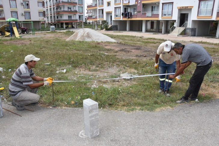 Ceyhan'da parklar güzelleşiyor