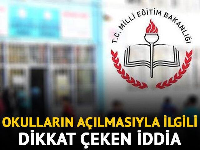 Muharrem Sarıkaya: Okulda eğitim 21 Eylül'de başlayacak