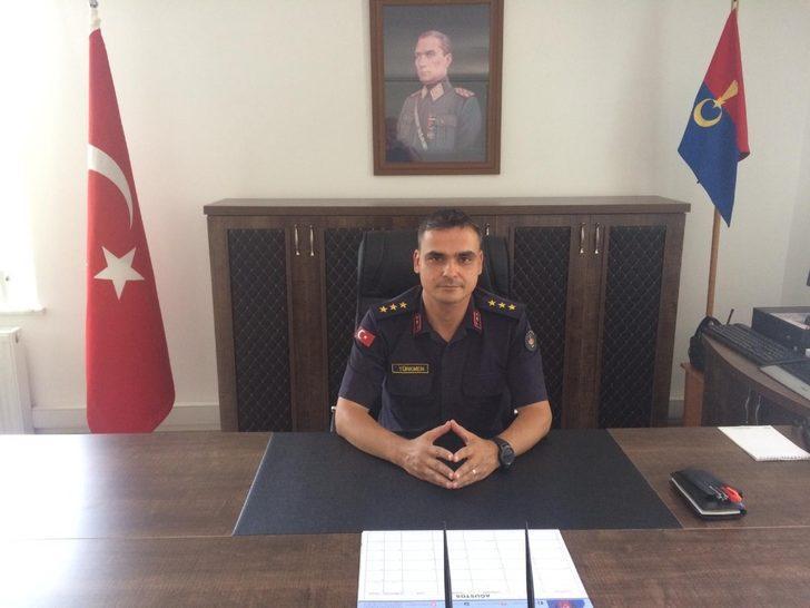 Eğirdir İlçe Jandarma Komutanı göreve başladı