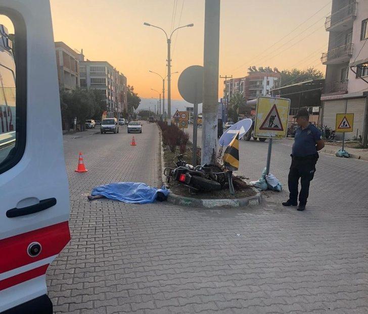 AK Parti ilçe başkanının kazada ölen oğlu defnedildi