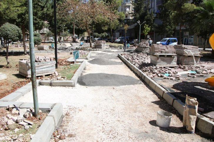Haliliye'de yeni park çalışmaları sürüyor