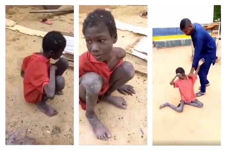 Açlığa terk edilen çocuk kendi dışkısını yiyerek hayatta kaldı