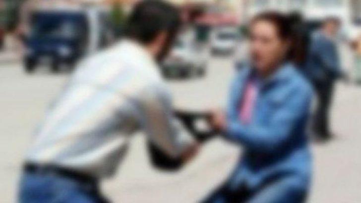 Kocaeli'de bankadan çıkan kadını yerde sürükleyerek çantasını gasbettiler