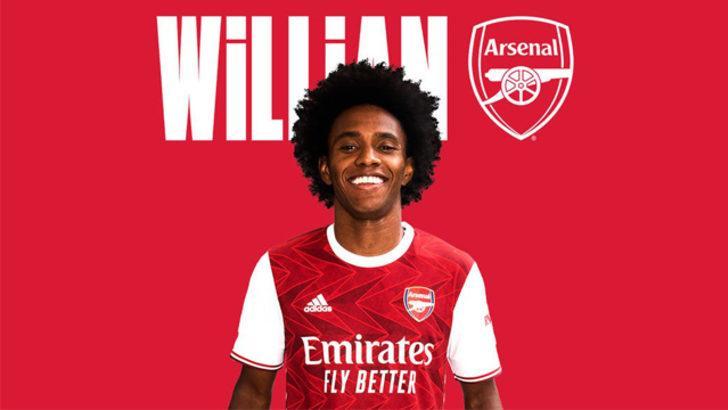 Arsenal, Brezilyalı Willian'ı transfer etti