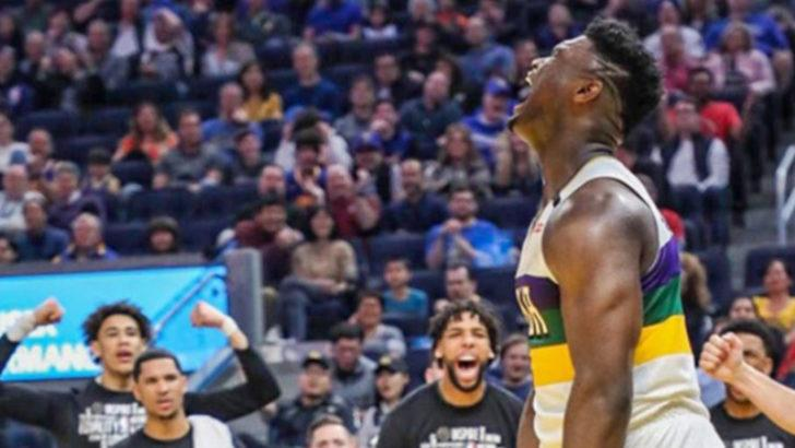 Zion Williamson, Lebron James'in tahtına aday