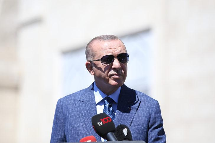 Cumhurbaşkanı Erdoğan'dan Doğu Akdeniz açıklaması: Saldırıyı cevapsız bırakamayız