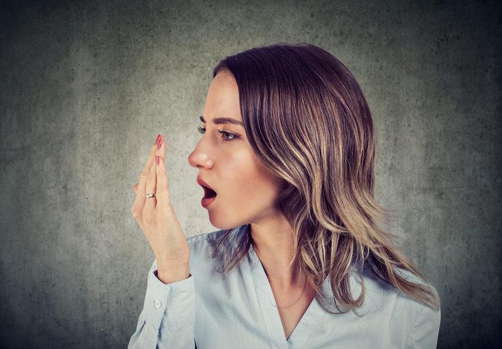 Koronavirüs ağız kokusunu ortaya çıkardı!