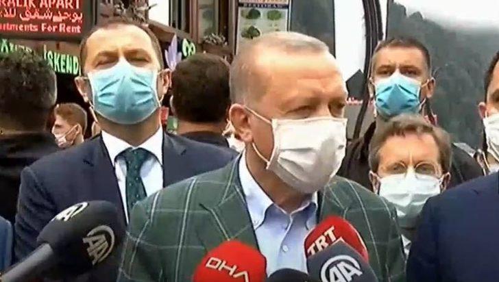 Cumhurbaşkanı Erdoğan: 2022'nin sonunda yeni bir Ayder ortaya çıkacak