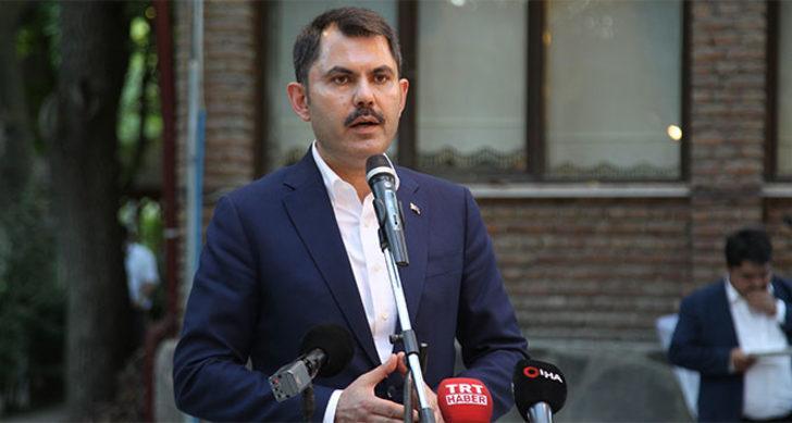 Son dakika! Bakan Kurum: Kanal İstanbul projesinin imar planlarını onayladık