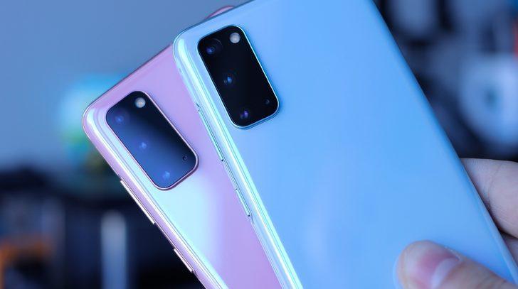 İkisi bir arada: Galaxy S21 Plus ve iPhone 12 Pro yan yana poz verdi!