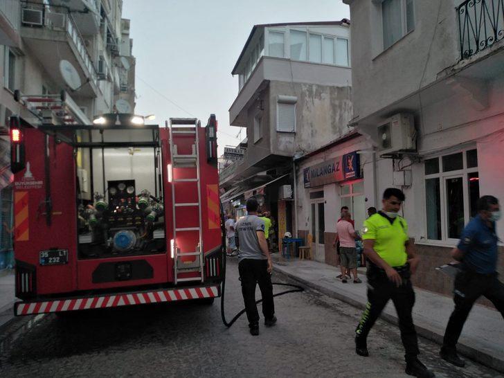 İzmir'de iş yerinde patlama: 1 ağır yaralı