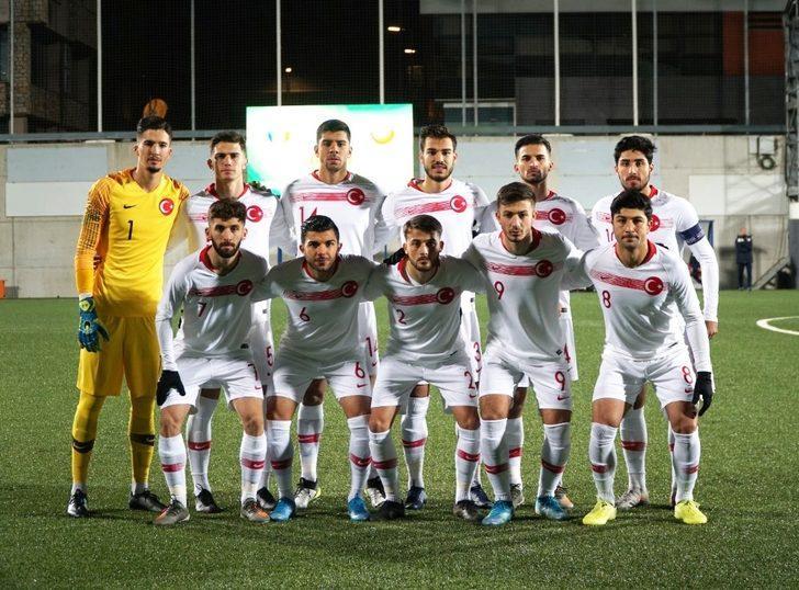 Ümit Milli Takımı'nın Andorra maçı aday kadrosu açıklandı