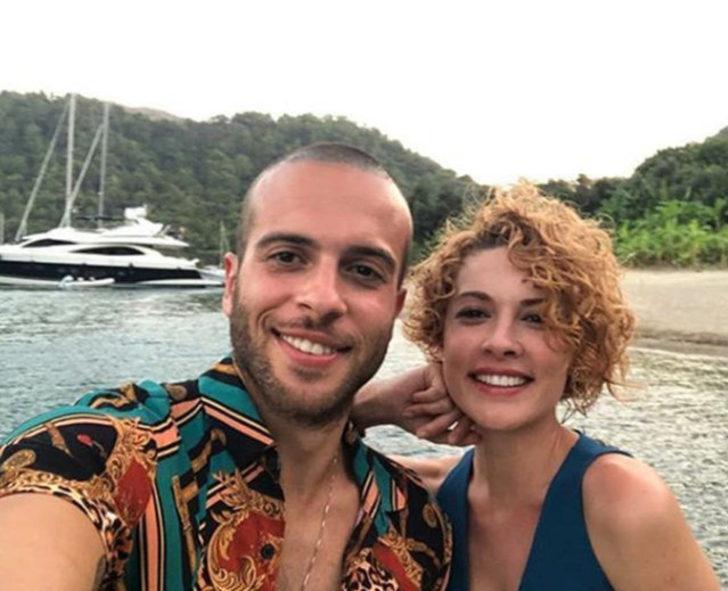 Açelya Topaloğlu ile Kenan Acar'dan aşk pozları