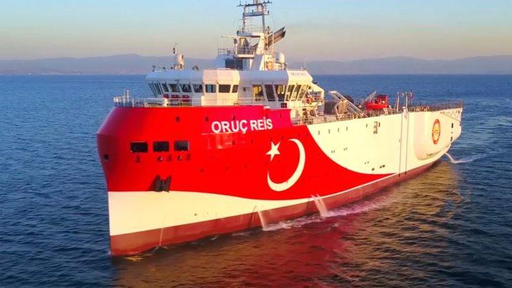 Oruç Reis Doğu Akdeniz'de Yeniden Faaliyetlerine Başladı