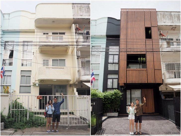 Karanlık ve kasvetli bir evden modern bir vahaya dönüştü