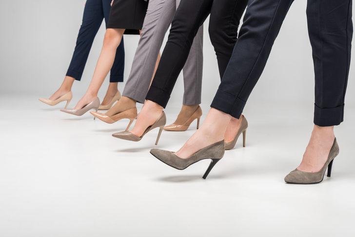 Çalışanlar dikkat! Mesaide topuklu ayakkabı kazası iş kazası sayılacak