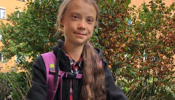 Greta Thunberg okula döndü