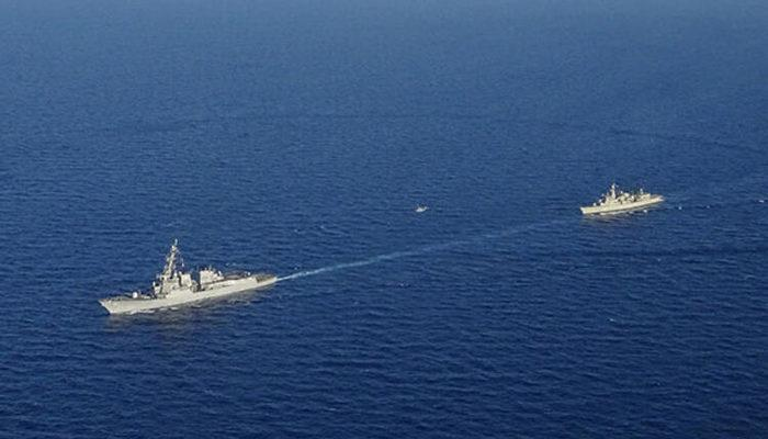 ABD ve Yunanistan Girit'in güneyinde ortak tatbikat