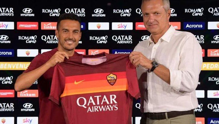 Roma, Pedro'yu kadrosuna kattı
