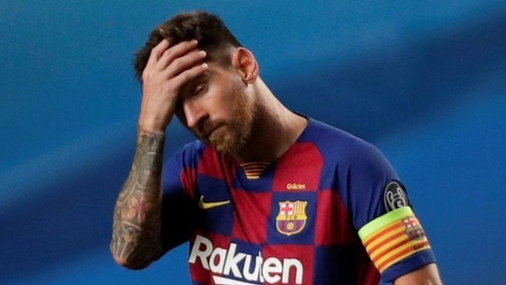 Lionel Messi resmen Barcelona'dan ayrılmayı talep etti