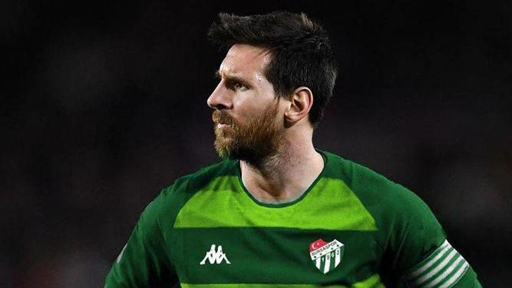 Bursaspor'dan esprili 'Messi' paylaşımı