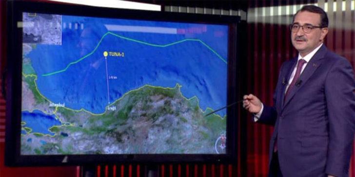 Enerji ve Tabii Kaynaklar Bakanı Fatih  Dönmez'den doğalgaz açıklaması: 320 milyardan fazla rezerv var