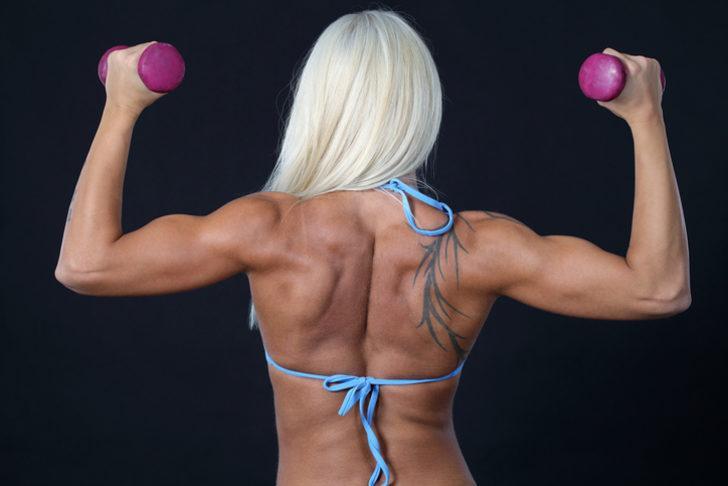 Kollarınızdaki Fazlalıkları Eritmek İçin Etkili 8 Egzersiz