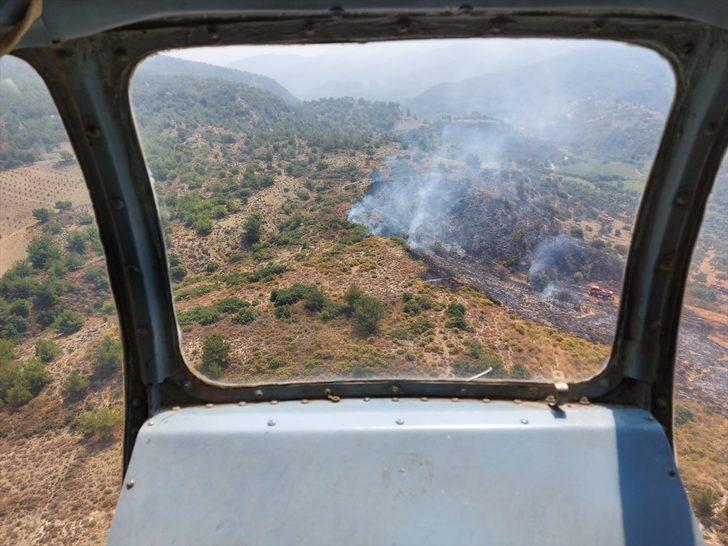 GÜNCELLEME - Hatay'da çıkan orman yangınında 1,5 hektar alan zarar gördü