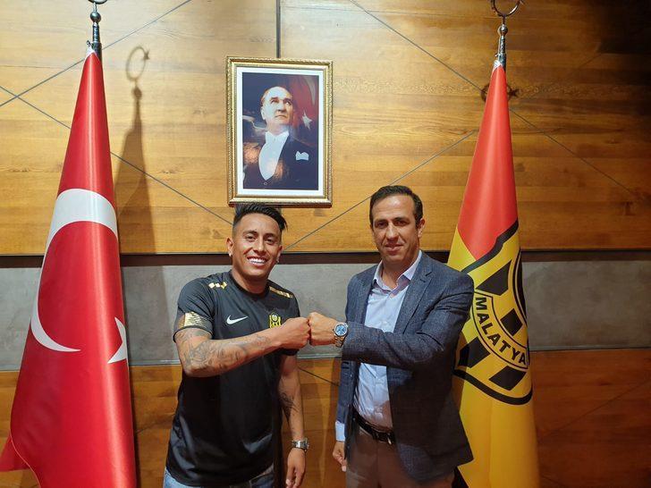 Yeni Malatyaspor, Christian Cueva'yı transfer etti