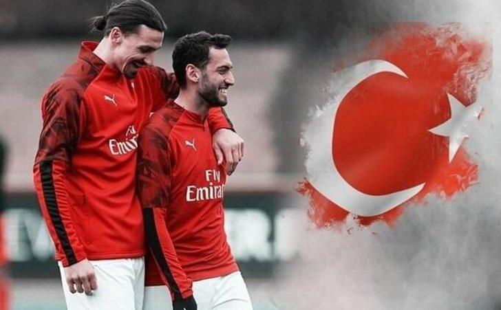 """Ibrahimovic: """"Hakan Çalhanoğlu daha iyisini yapabilir"""""""