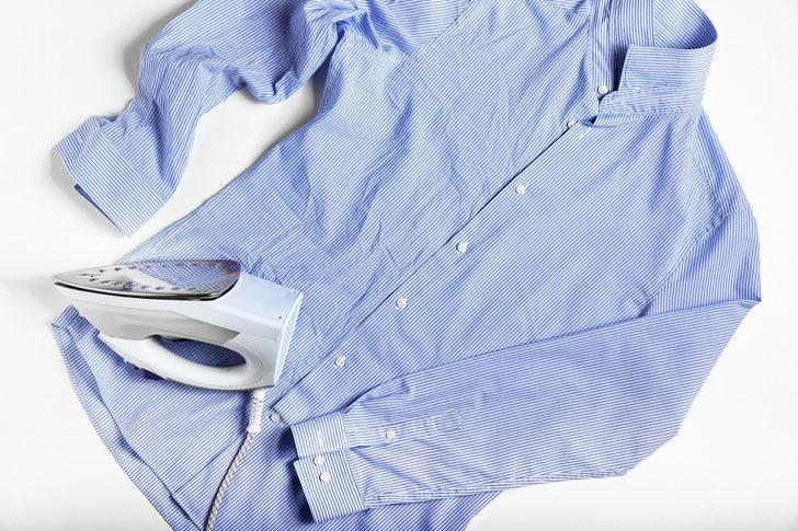2 dakikada jilet gibi gömlek ütüleme yöntemi