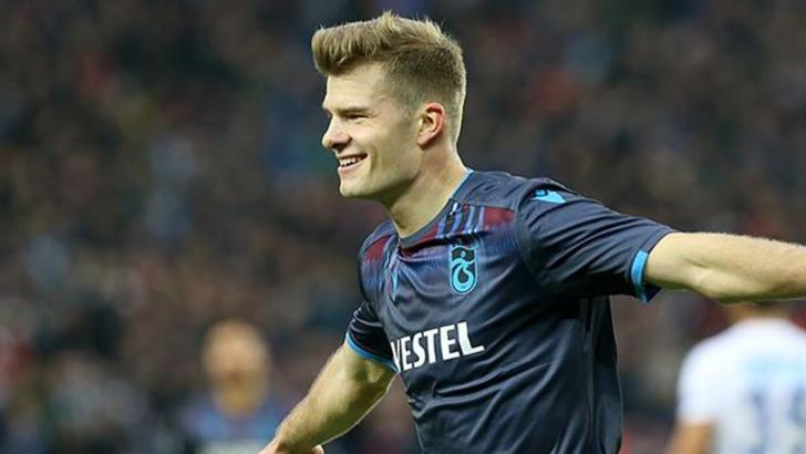 Trabzonspor'da Alexander Sörloth'tan ayrılık kararı