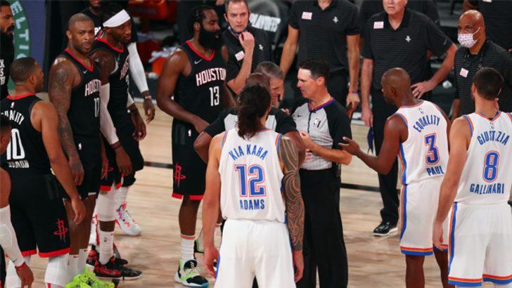 NBA play-off turunda Houston Rockets yarı finale çıktı