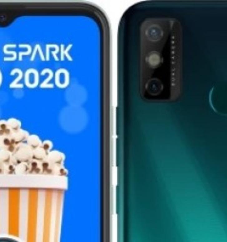 Uygun fiyatlı Tecno Spark Go 2020 göründü