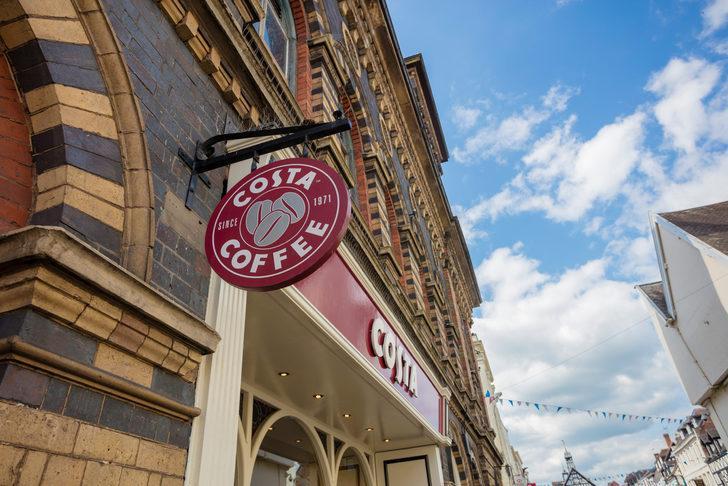 İngiliz kahve zinciri Costa Coffee, 1.500 kişiyi işten çıkarmayı planlıyor