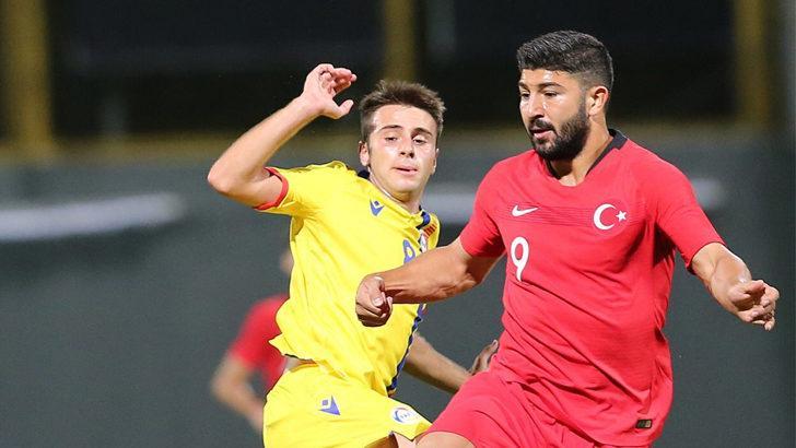 Ümit Milliler Andorra'yı tek golle mağlup etti