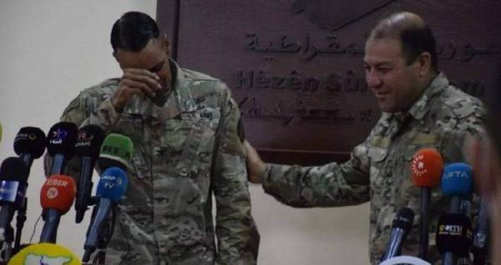 Görev süresi dolan ABD askeri ağladı: PKK'ya yardım edemeyeceğim