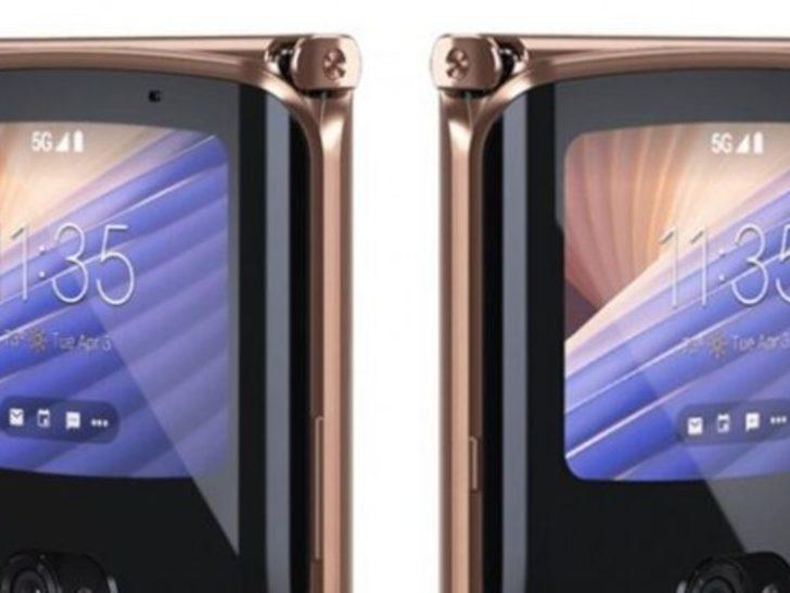 Motorola Razr 5G en net görselleri ile görüntülendi