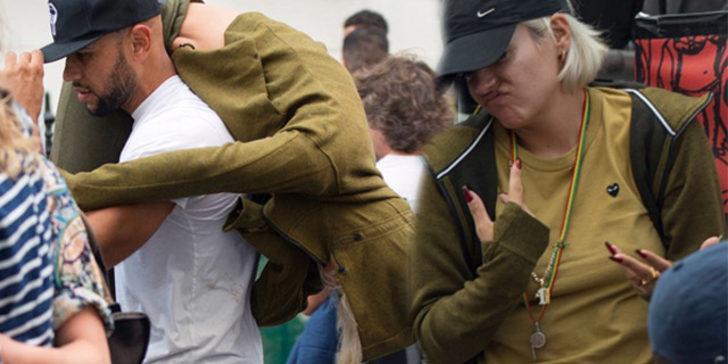 Lily Allen festivalde fena dağıttı