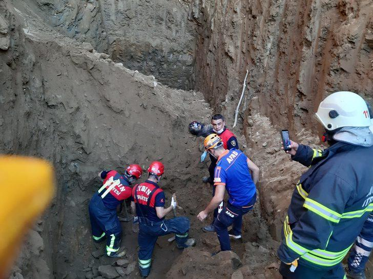Aydın'da su kuyusu kazarken göçük altında kalan 2 kişi öldü