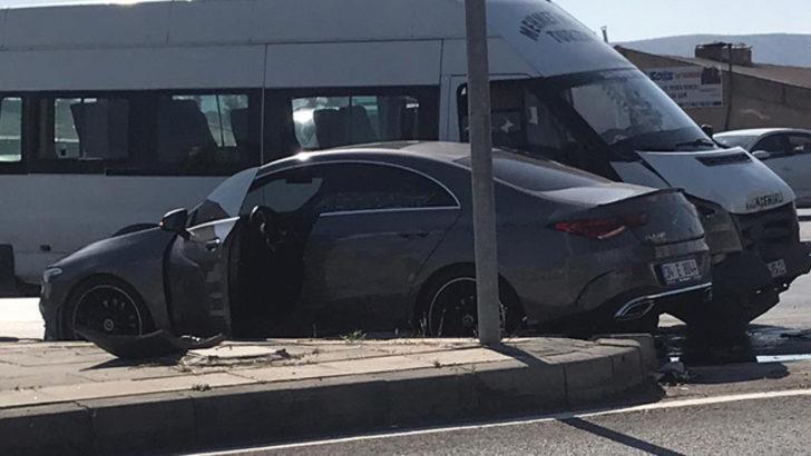 Sivassporlu Erdoğan Yeşilyurt trafik kazası geçirdi!
