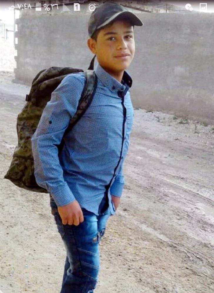 PKK/YPG'li teröristler, Suriye'de 13 yaşındaki İbrahim Halil'i top oynarken kaçırdı