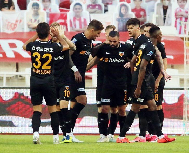 Kayserispor'un yeni kaptanı Hasan Hüseyin