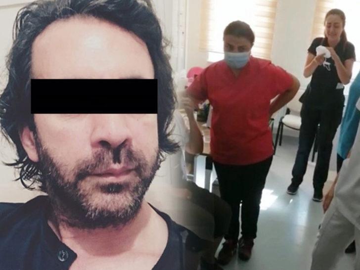 Balıkesir'de 3 hemşireyi darp edip bir hastayı bıçaklayan saldırgan tutuklandı