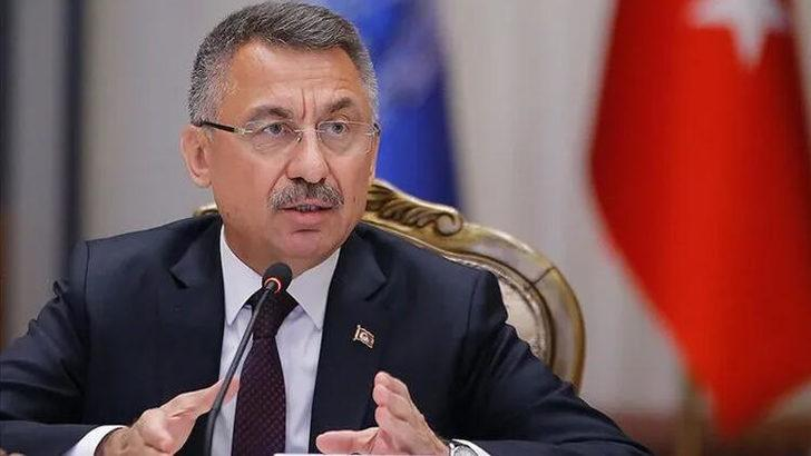 Cumhurbaşkanı Yardımcısı Oktay'dan KKTC Cumhurbaşkanı adayı Arıklı'ya geçmiş olsun telefonu