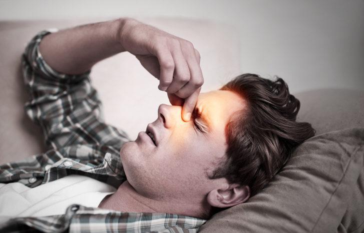 Bu yöntem sayesinde 20 saniyede sinüzit ağrısından kurtulacaksınız